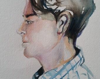 Portrait of Colin