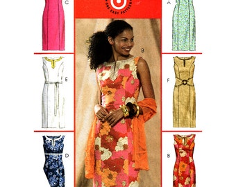 McCall's Sewing Pattern M5041 Misses' Dresses  Size:  AA  6-8-10-12  Uncut
