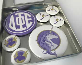 Delta Phi Epsilon Magnet Set, gifts for delta phi epsilon