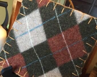 The Woolen Nest PotHolder/Trivet