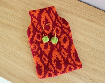 Hot Water Bottle cover with bottle