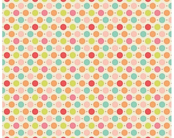 Sweet Nothings Dots Multi Duck Canvas by Riley Blake