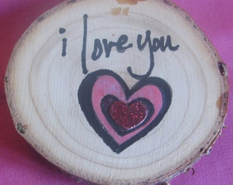 Gift Tag - Wood Embellishment