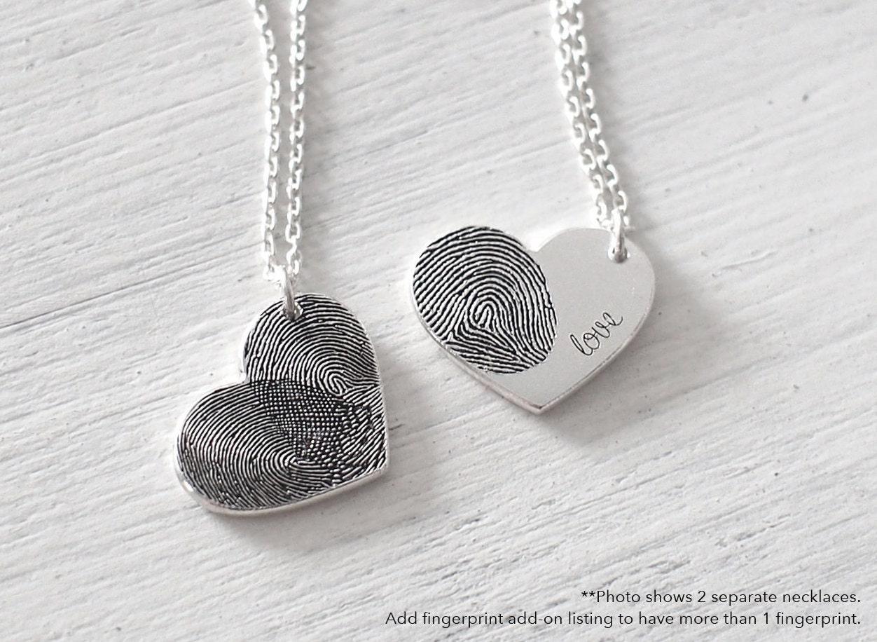 Fingerprint Necklace Craft