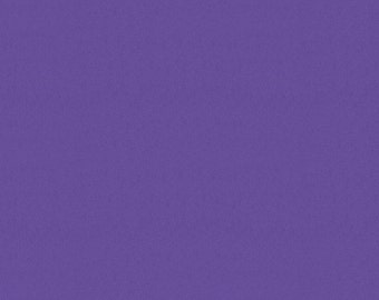 Solid Purple Minky Fabric - By The Yard - Girl / Solid / Fabric