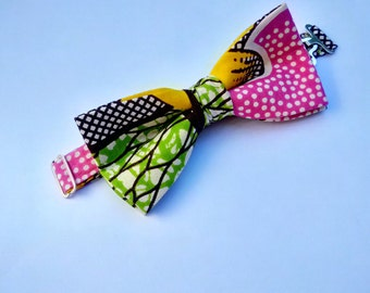 Afrocentric Bright Bow Tie