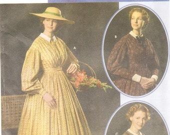 Simplicity 4551 Misses' Civil War Costume Pattern, 16-24