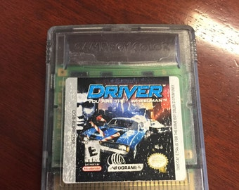 DRIVER: You are the wheelman GAMEBOY COLOR Sp Game