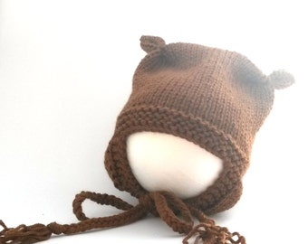 Boris, a cute and comfy baby hat