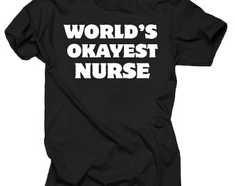 Nurse T-Shirt NCLEX RN Funny Profession Occupation T-Shirt