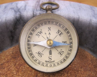 Vintage Pocket Compass Made in Germany
