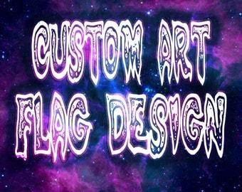 Custom Art Flag Design