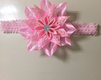Baby girl headband handmade by me