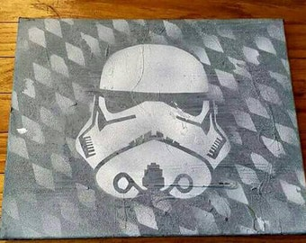 Original Starwars Stormtrooper art. 11x14 Dwreckproductions