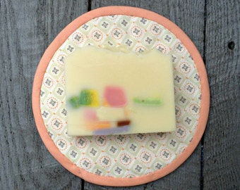 Celestial Waters bar soap. Fresh clean scent.