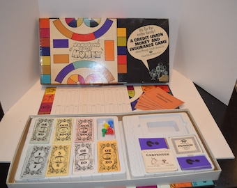 "CUNA 1969 ""Managing Your Money"" Board Game - Complete"
