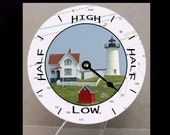 Nubble Lighthouse CD Tide Clock