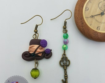 Earrings madhatter