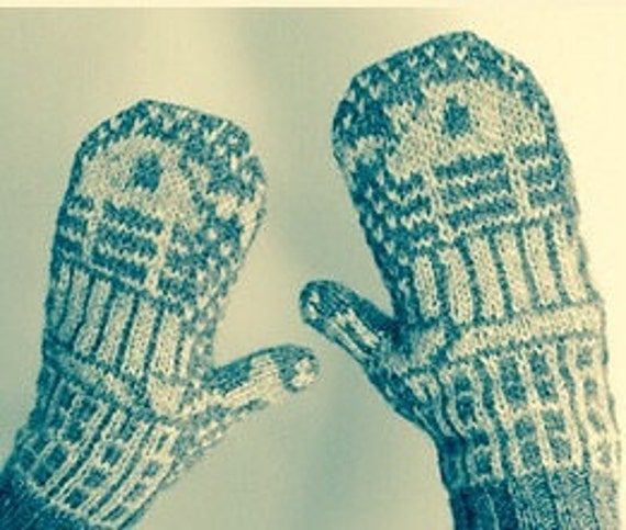 Star Wars Knit Mitten Pattern