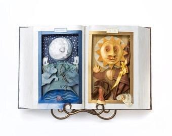 Sol e Luna Art Book with Stand