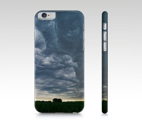 Phone Case, Nebraska Images, Storm Landscape, Corn Field Photo, Nature Photography, iPhone Case, Samsung Galaxy Cover, Midwest Pictures