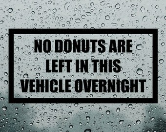 Donut Decal Etsy - Overnight decals from japan