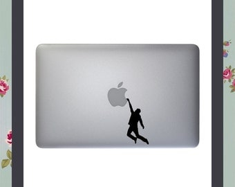 Mac Decal, Hang On!, Apple Macbook and other laptop stickers, iPad Stickers, iPad Decals
