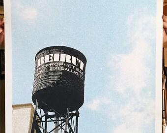 Beirut Dallas Prophet Bar Gig Poster