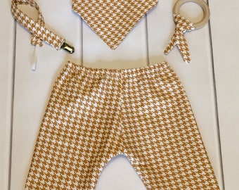 Modern Baby Clothes - Chic Baby Clothes - Cool Baby Clothes - Baby Pants Set - Boutique Baby Clothes - Hip Baby Clothes - Baby Shower Gift