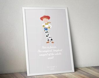 Toy Story's Jessie print