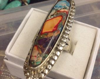 Ocean Jasper ring.