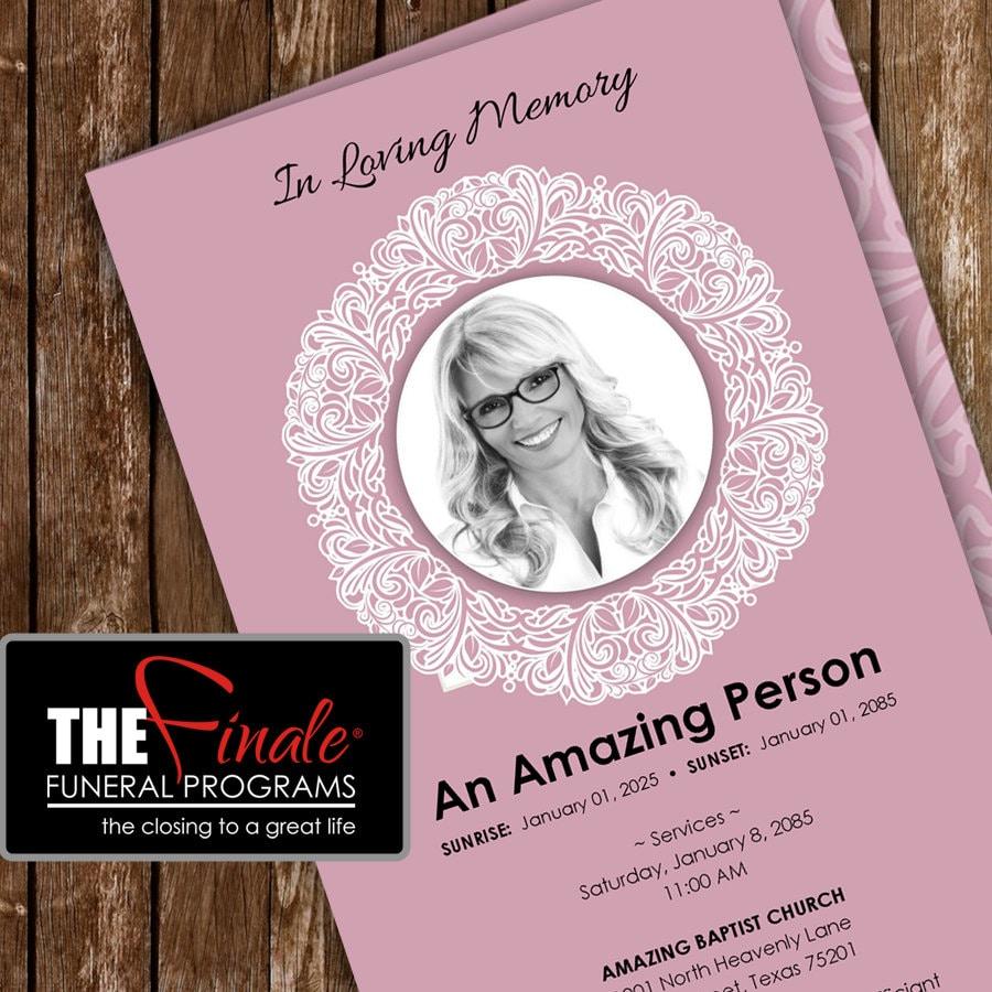 Doc466386 Free Printable Obituary Program Template 1000 – Free Printable Funeral Programs Templates
