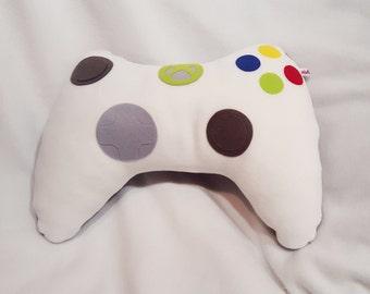 Microsoft Xbox 360 controller plush pillow