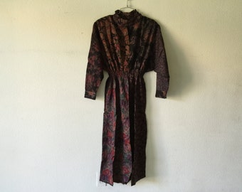 Vintage New 1980's Zashi Dress Made in India