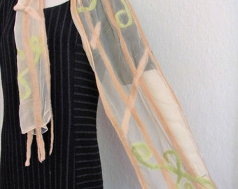 handmade - felted scarf