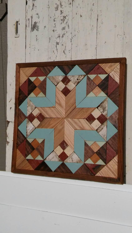Salvaged Wood Wall Art Southwestern Decor Barn Quilt