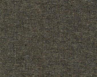 Essex Yarn Dyed Metallic in Black - Robert Kaufman (E105-1019)