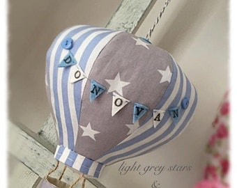 Hot Air Balloon Mobile - custom made - personalised