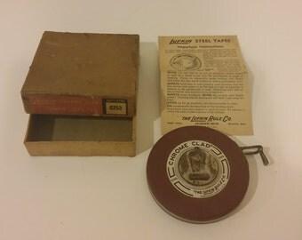 Lufkin chrome clad tape measure
