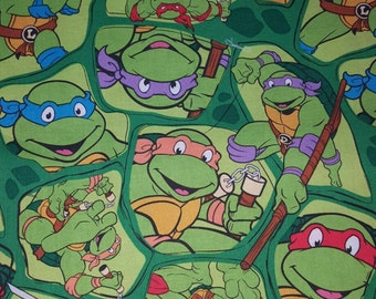 TMNT cotton woven fabric