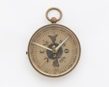 1930s French Morin Compass / Military Brass Compass / French Army Compass