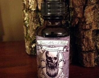 Mens Valentines Day Gift - Beard Oil - Eucawood Cedar Scent 1oz Bottle - Shiver Me Whiskers Natural Beard Oil - Mens Beard Care