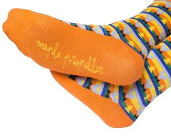 Mens colorful dress socks | groomsmen socks | funny sock | happy sock | crazy sock |