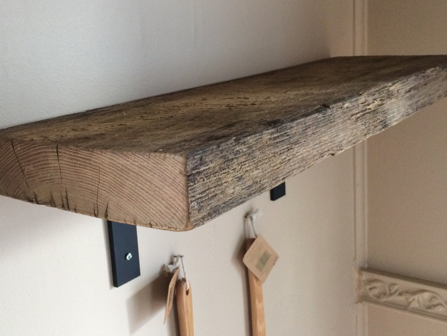Reclaimed Barn Wood Rustic Shelf With By Blowingrockwoodworks