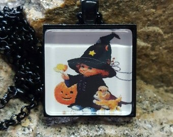 Cute Witch Pendant