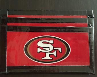 49ers Front Pocket Duck Tape Wallet