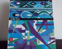 Rare Vintage 1996 Emilio Pucci Biennale di Firenze Book Skira  Exhibition Catalogue Fashion Art Designer Abstract 1960's Design Textiles