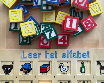 Learn the alphabet puzzle