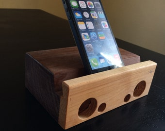 Reclaimed Maple / Walnut Dock Block