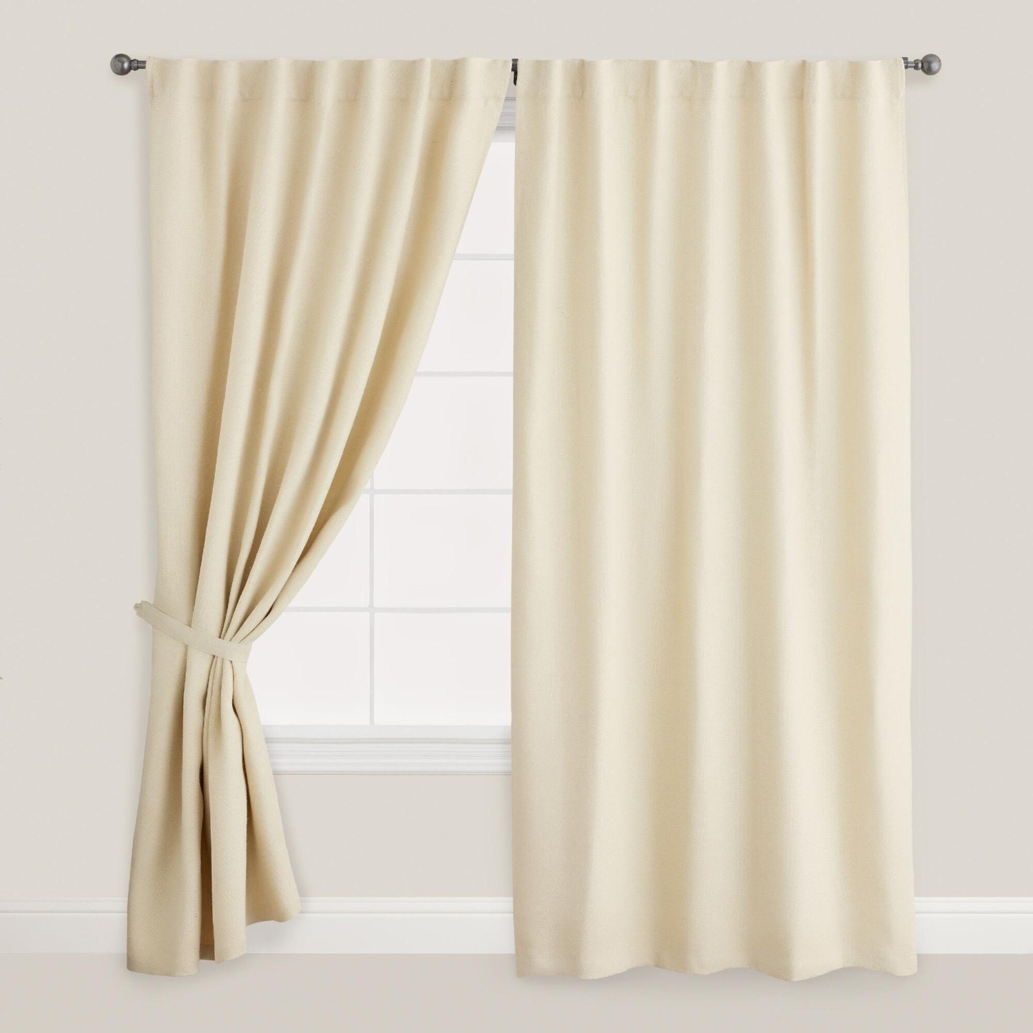 White velvet custom made curtains all size by tailor2u on etsy